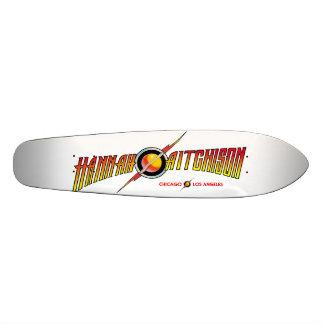 ¡Cubierta clásica del monopatín de Cali del plátan Skateboard