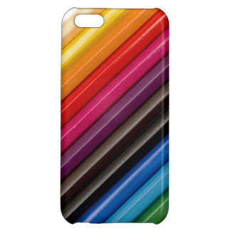 cubierta coloreada del iPhone de los lápices