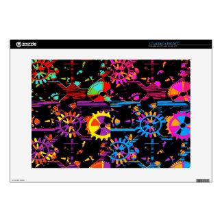 Cubierta colorida del dispositivo de Popart de los Portátil Calcomanía