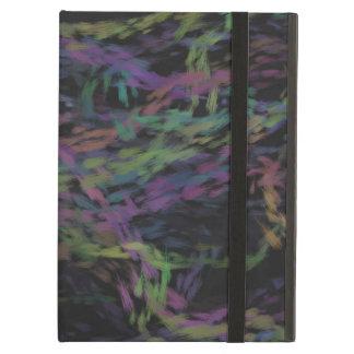 Cubierta colorida del iPad de la pizarra