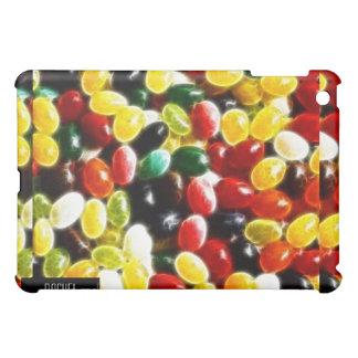 Cubierta colorida del iPad del fractal del Jellybe
