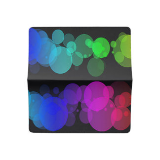 Cubierta colorida del talonario de cheques de los funda para chequera