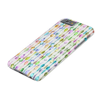 Cubierta colorida del teléfono de la cuchara del funda para iPhone 6 barely there