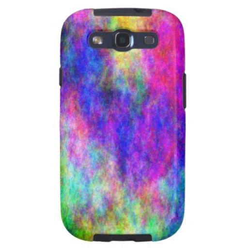 Cubierta colorida del teléfono del diseño del plas galaxy SIII protectores