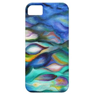 Cubierta colorida del teléfono iPhone 5 funda