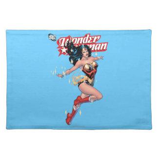 Cubierta cómica de la Mujer Maravilla Mantel
