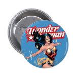 Cubierta cómica de la Mujer Maravilla Pin Redondo 5 Cm