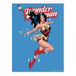 Cubierta cómica de la Mujer Maravilla Tarjeta Postal