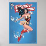 Cubierta cómica del vintage de la Mujer Maravilla Posters