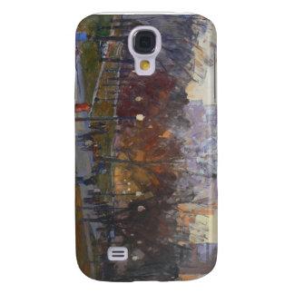 """Cubierta común del iPhone de """"Boston"""" Funda Para Galaxy S4"""