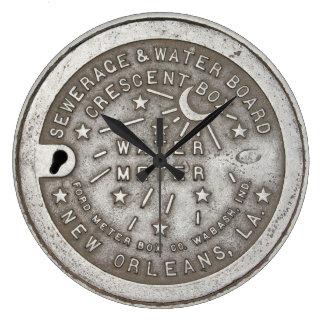 Cubierta creciente del metro del suministro de reloj redondo grande