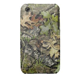 cubierta cubierta de musgo del teléfono del roble funda para iPhone 3 de Case-Mate