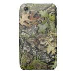 cubierta cubierta de musgo del teléfono del roble iPhone 3 Case-Mate carcasa