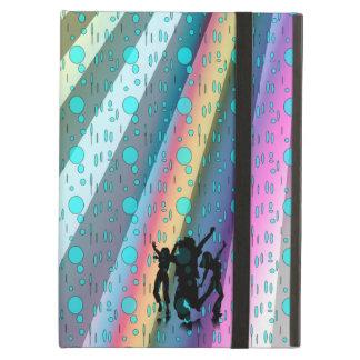 Cubierta de aire de Ipad, danza en el diseño de la