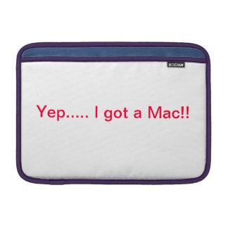 Cubierta de aire del libro del mac funda macbook air