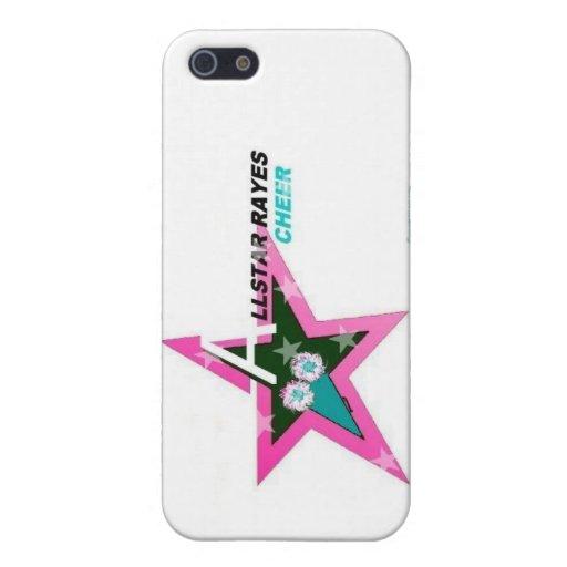 Cubierta de Allstar Rayes IPhone iPhone 5 Cobertura