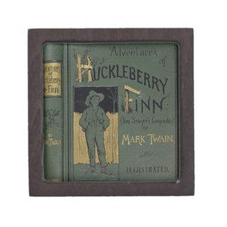"""Cubierta de """"aventuras de Huckleberry Finn"""" por la Cajas De Joyas De Calidad"""