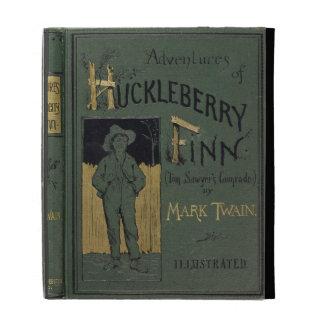 """Cubierta de """"aventuras de Huckleberry Finn"""" por la"""