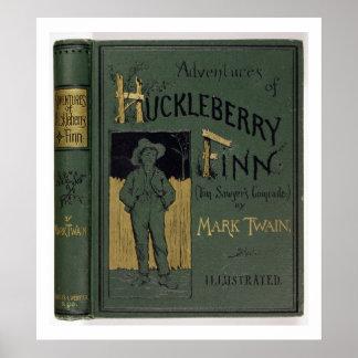 """Cubierta de """"aventuras de Huckleberry Finn"""" por la Impresiones"""