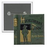 """Cubierta de """"aventuras de Huckleberry Finn"""" por la Pins"""