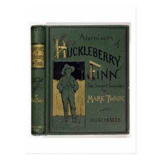 """Cubierta de """"aventuras de Huckleberry Finn"""" por la Postales"""