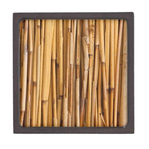 Cubierta de bambú de los palillos cajas de recuerdo de calidad