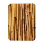 Cubierta de bambú de los palillos iman flexible
