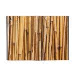 Cubierta de bambú de los palillos iPad mini funda
