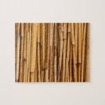 Cubierta de bambú de los palillos puzzle
