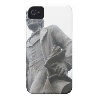 Cubierta de Blackberry con la imagen de Abraham Case-Mate iPhone 4 Fundas