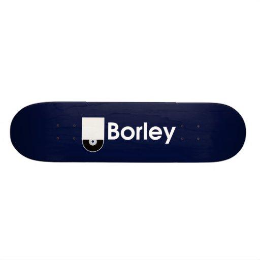 Cubierta de Borley Patín