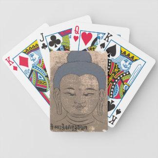 Cubierta de Buda de naipes