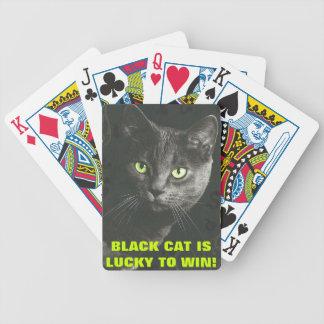 CUBIERTA DE CAT-LOVER DE NAIPES BARAJAS DE CARTAS