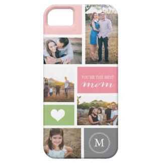 Cubierta de encargo del collage de la foto del día iPhone 5 funda