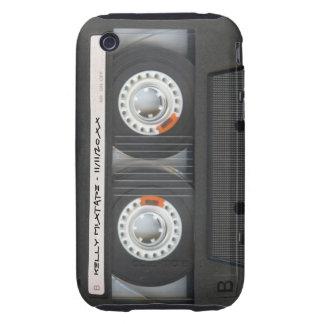 Cubierta de encargo del iPhone 3G de Mixtape iPhone 3 Tough Protectores