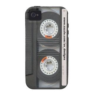 Cubierta de encargo del iPhone 4G de Mixtape Vibe iPhone 4 Carcasa