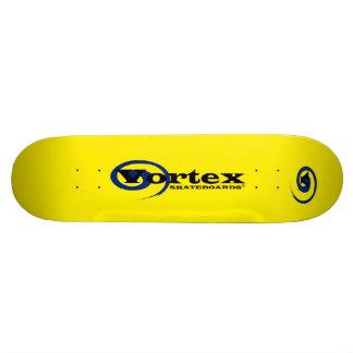 Cubierta de encargo del monopatín del vórtice skate board