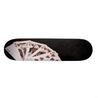 Cubierta de escalera real tabla de skate