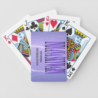 Cubierta de Indiana Skywarn de tarjetas Cartas De Juego