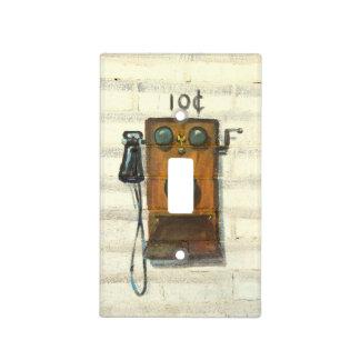 cubierta de interruptor de la luz antigua del cubierta para interruptor