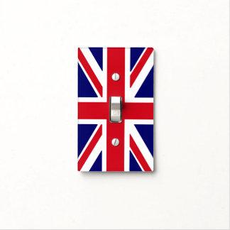 Cubierta de interruptor de la luz británica de la cubiertas para interruptor