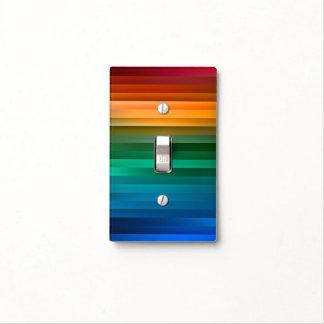 Cubierta de interruptor de la luz colorida de la tapas para interruptores