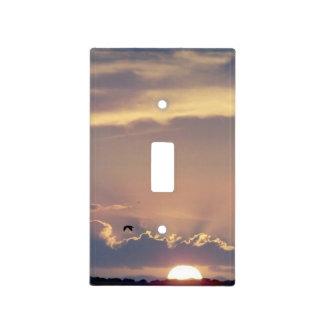 Cubierta de interruptor de la luz de la puesta del cubierta para interruptor