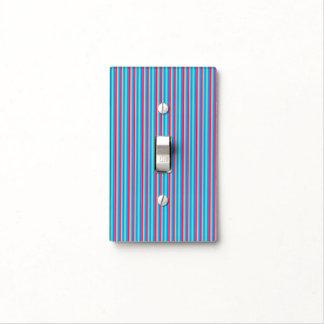 Cubierta de interruptor de la luz de las rayas placas para interruptor