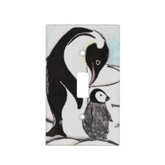 Cubierta de interruptor de la luz de los pingüinos cubiertas para interruptor