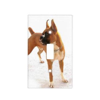 Cubierta de interruptor de la luz del perro del bo placa para interruptor