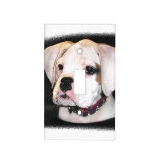 Cubierta de interruptor de la luz del perro del bo cubiertas para interruptor