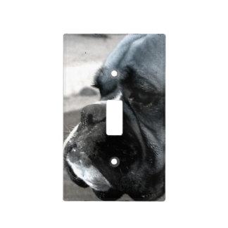 Cubierta de interruptor de la luz del perro del bo cubierta para interruptor