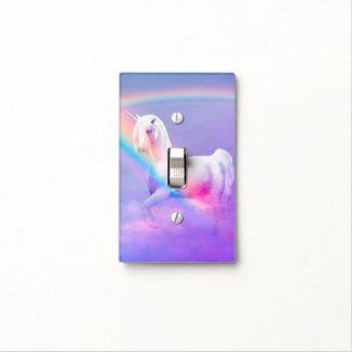 Cubierta de interruptor de la luz del unicornio tapas para interruptores