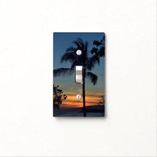 Cubierta de interruptor de la luz hawaiana de la cubierta para interruptor
